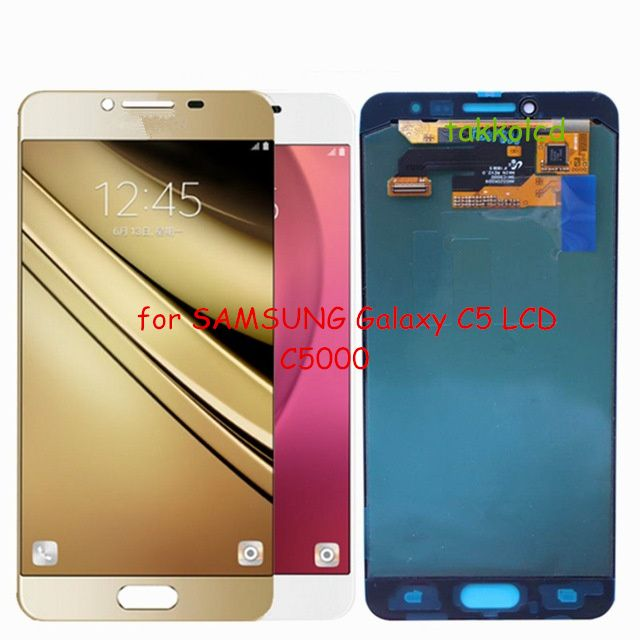 f812c25b3195d1 for SAMSUNG Galaxy C5 LCD C5000 Touch Screen Digitizer Replacement Parts
