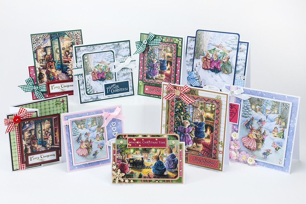 Make These Cards By Emma Williams Using Your Christmas In Holly Pond