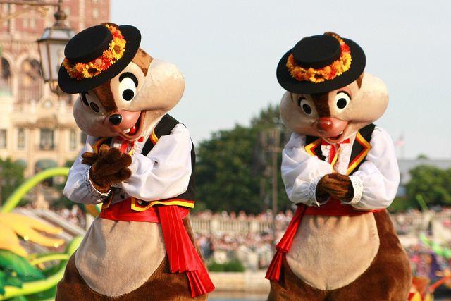 """Chip & Dale! Tokyo DisneySea """"Fairies Primavera"""" parade by (nagi), via Flickr"""