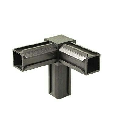 20mm 3 Way Corner Square Tube Connector Metal Working
