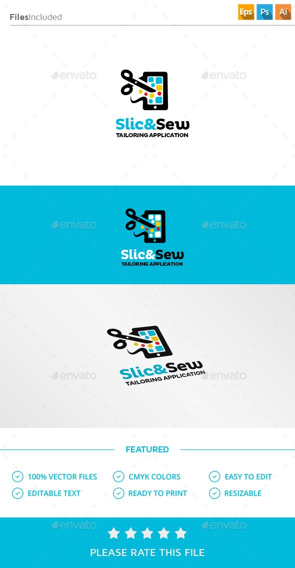 Tailor App Logo App logo, Logos and Logo design template