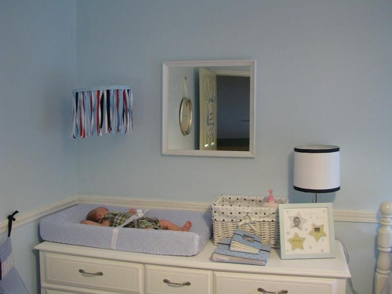 Ribbon Mobile Love That Idea Above Changing Table Nursery