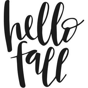 Silhouette Design Store - View Design #150293: hello fall #hellofall