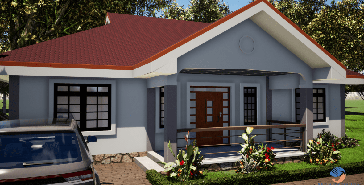 3 Bedroom Simple House Plan Muthurwa Com Bedroom House Plans Architectural House Plans Small Cottage House Plans