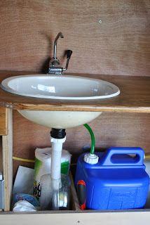 Ford Van Conversion Sink And Storage Camper Van Diy