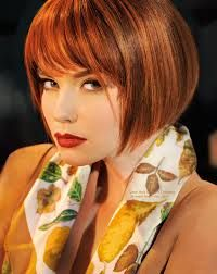 Image result for layered chin length bob with bangs