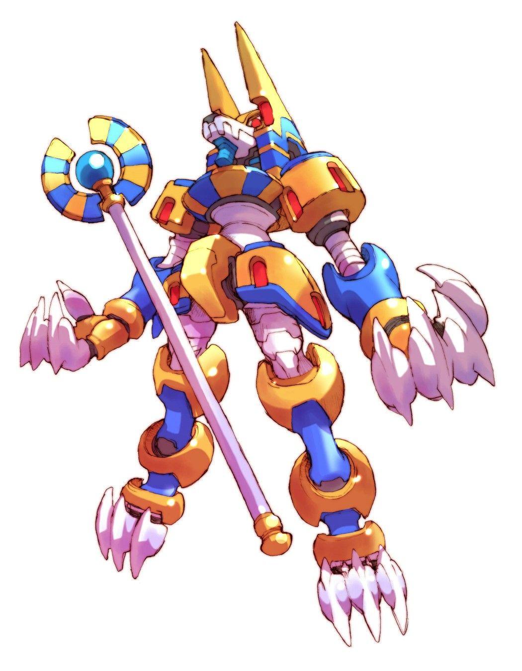 List of Neo Arcadian boss characters | Megaman | Mega man