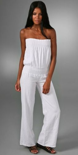 Young Fabulous & Broke Linen Jumpsuit | jumpsuits | Pinterest ...
