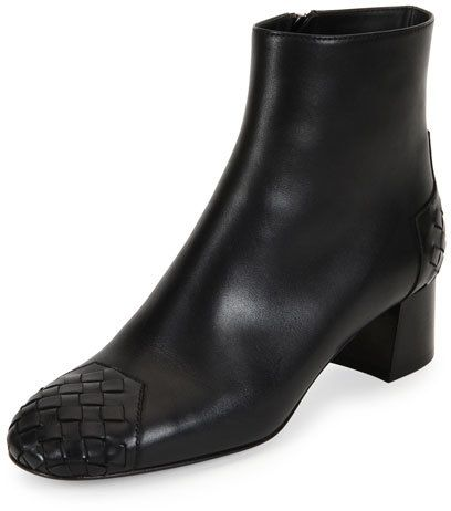 Bottega Veneta Patent Leather Square-Toe Ankle Boots fashionable sale online tR9PYuqIf