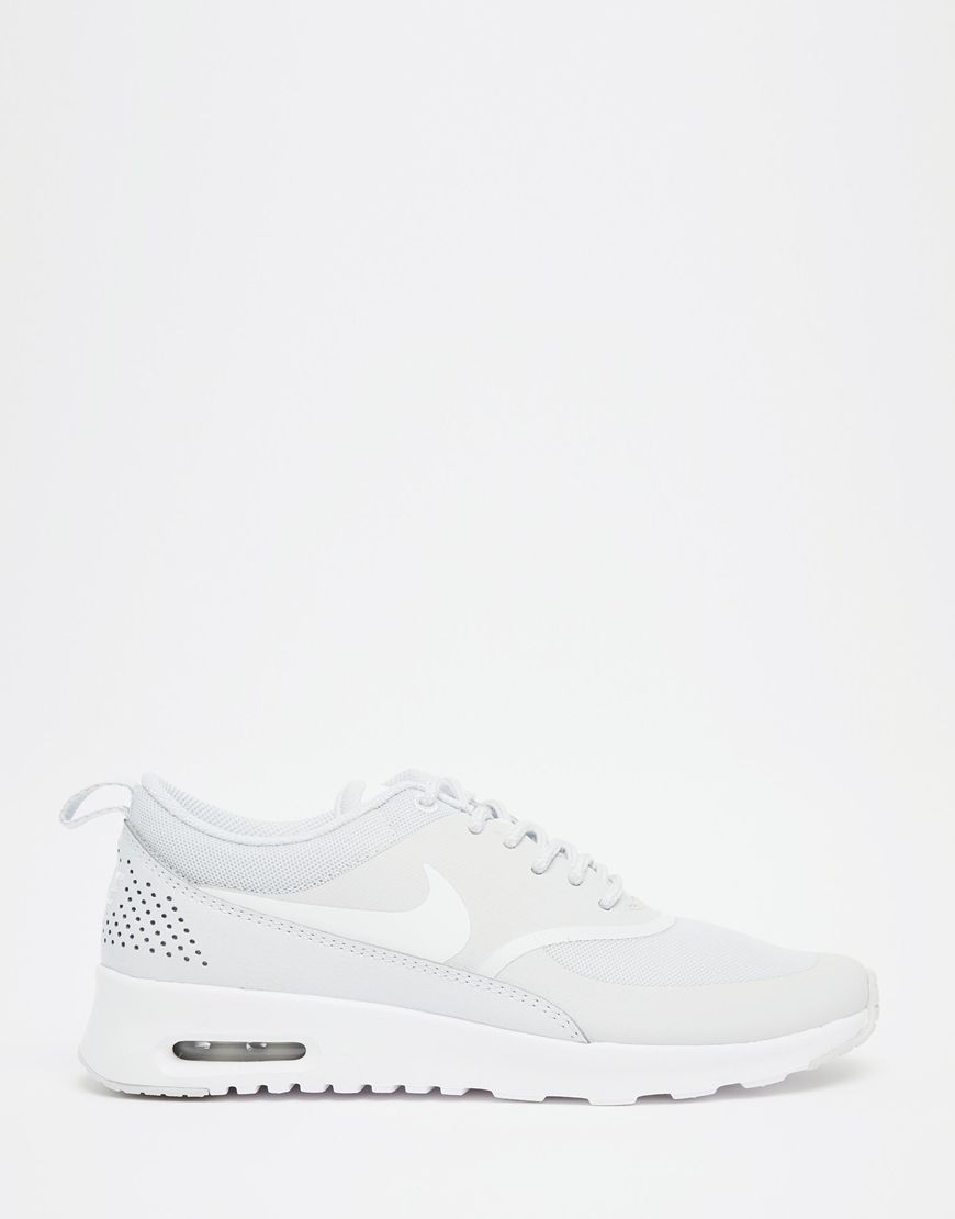 Nike Air Max Thea Blanc Platine