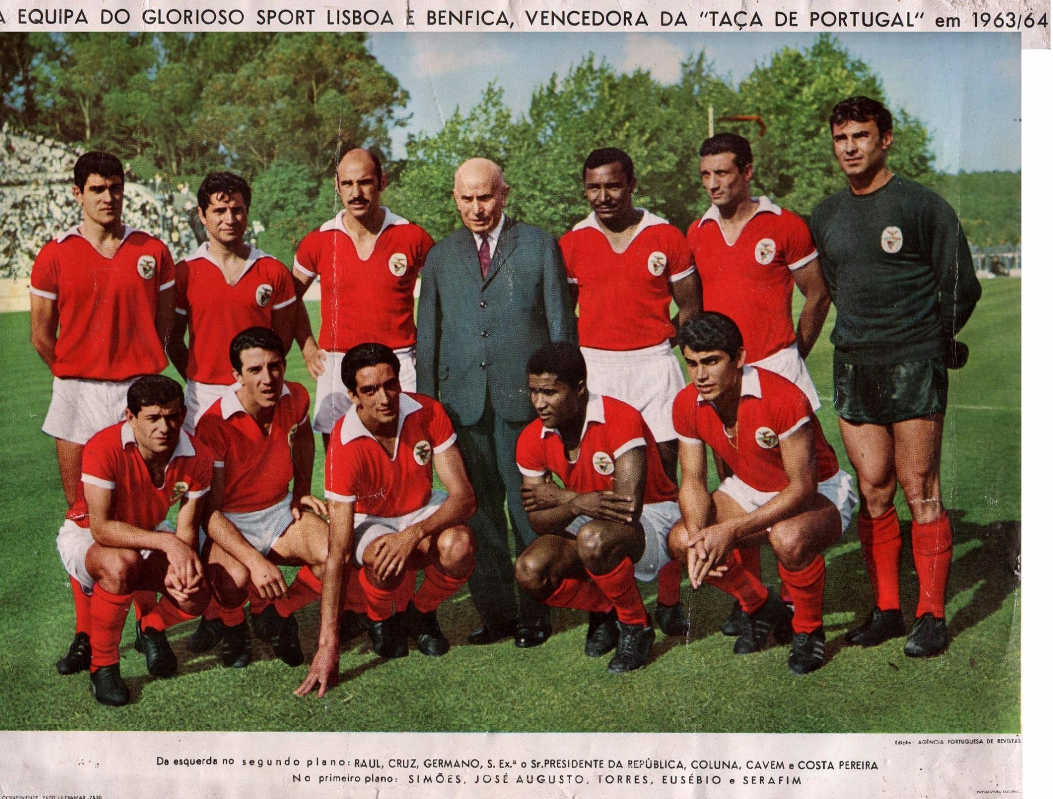 Chalana Benfica: Benfica, Vencedor Da Taça De Portugal, 1963/64 Com O