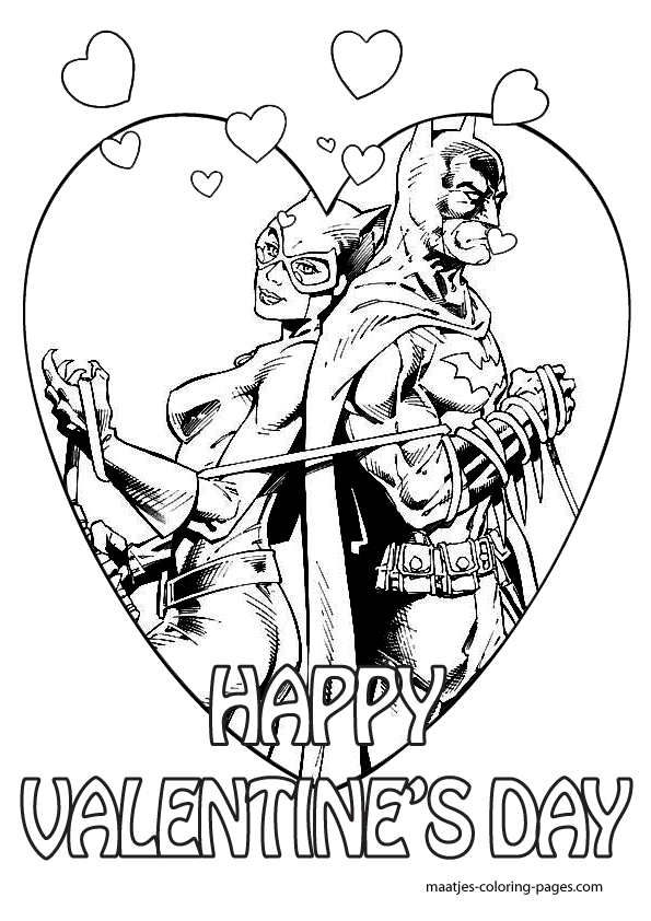 spiderman and mary jane superman and lois lane batman and catwoman and the incredible batman and catwomancoloring pages - Batman Catwoman Coloring Pages