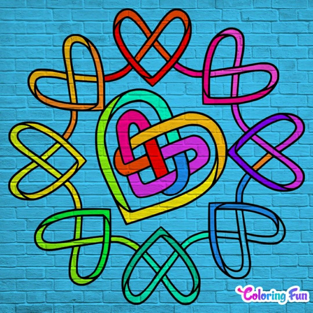 Pin By Michelle Stewart On Coloring Is Fun Peace Gesture Neon Signs Color By Numbers