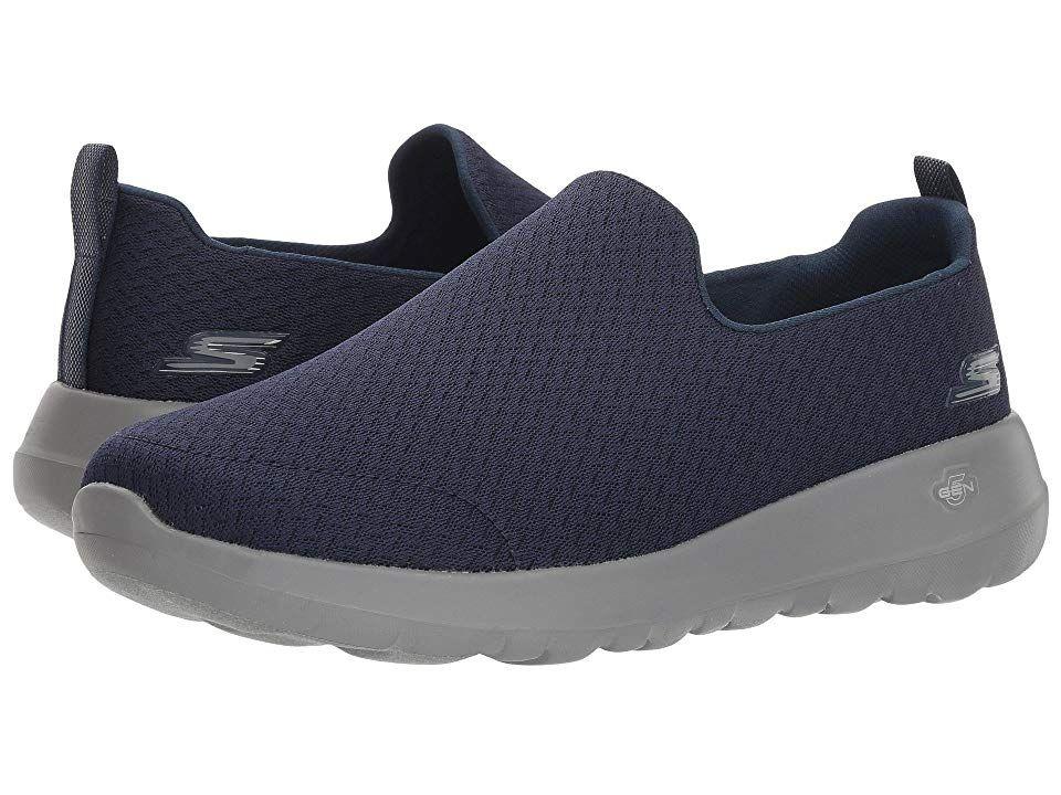 Skechers Performance Go Walk Max Rejoice Navy Gray Men S Shoes