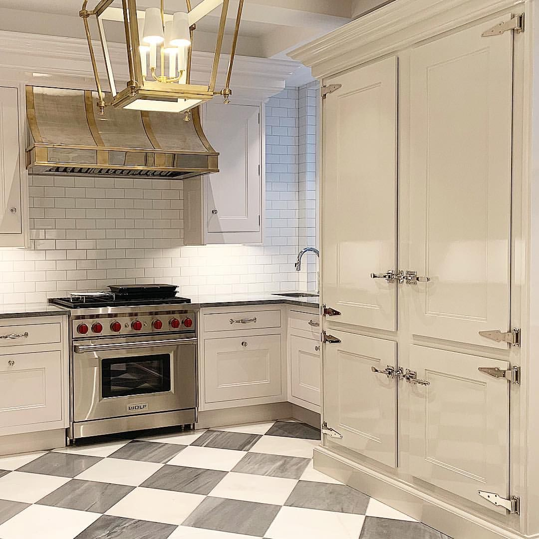 15 Stunning Gray Kitchens With Images: Sharing This Gem From Central Park West...Just Beautiful