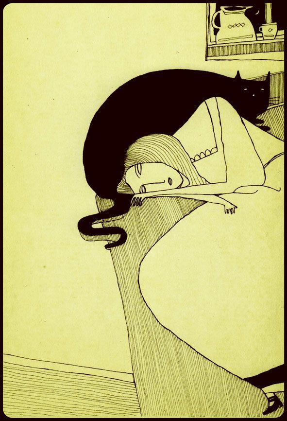 ...Mehrdad Zaeri, Sonja sleeping