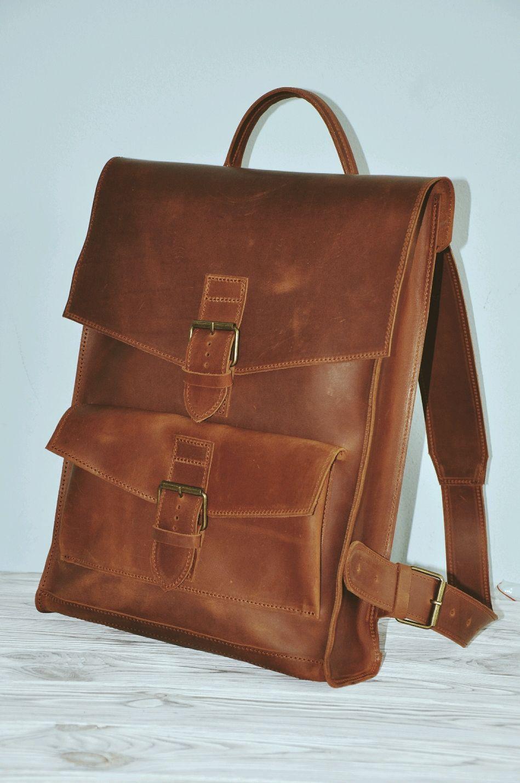 15fac7475b39 Рюкзаки ручной работы. Заказать Кожаный рюкзак