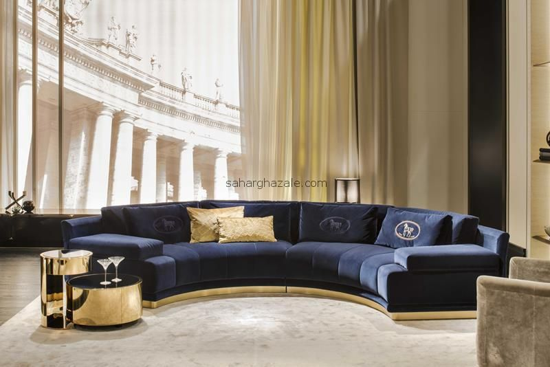 Fendi Casa Artu Round Sectional Sofa   Google Search | 大sofa | Pinterest |  Sectional Sofa, Interiors And Living Rooms