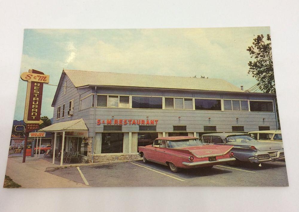 Details about vintage 60s gatlinburg tn sm restaurant old