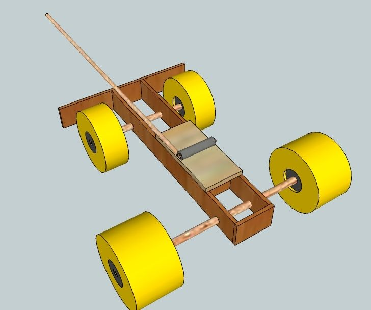 Mousetrap Car For Less Than 5 Physical Science Projects