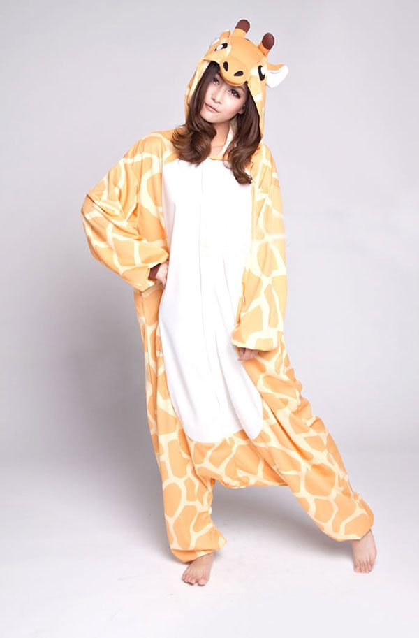 99b81cf3b8 giraffe Kigurumi pajamas