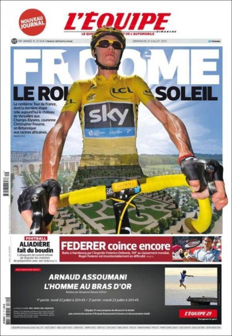Prensa deportiva del 21 de Julio 2013 (con imágenes
