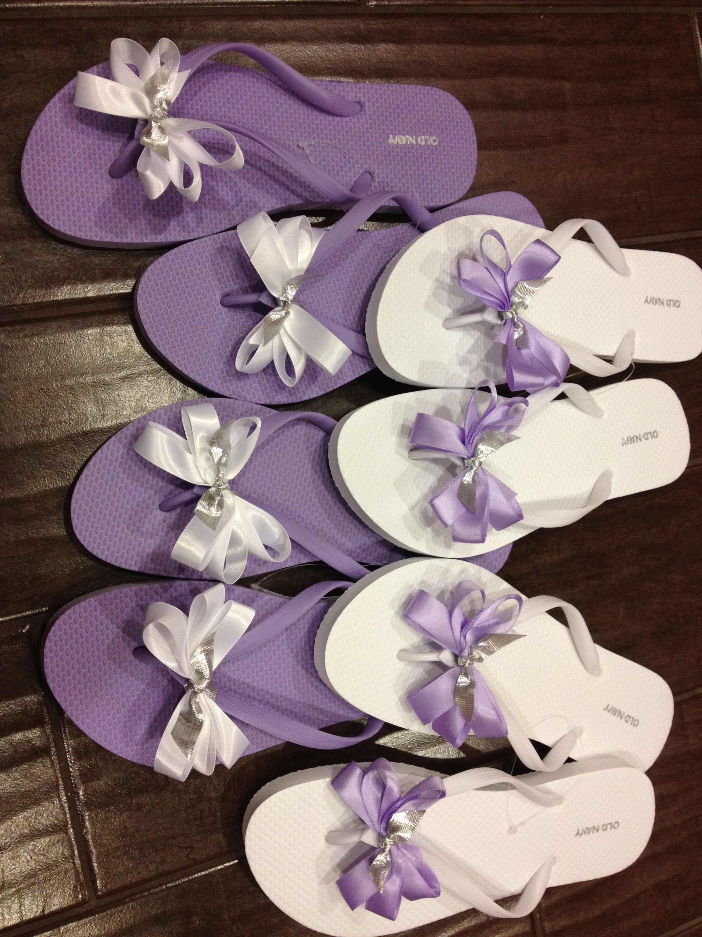 4ad77f71be8d Wedding flip flops