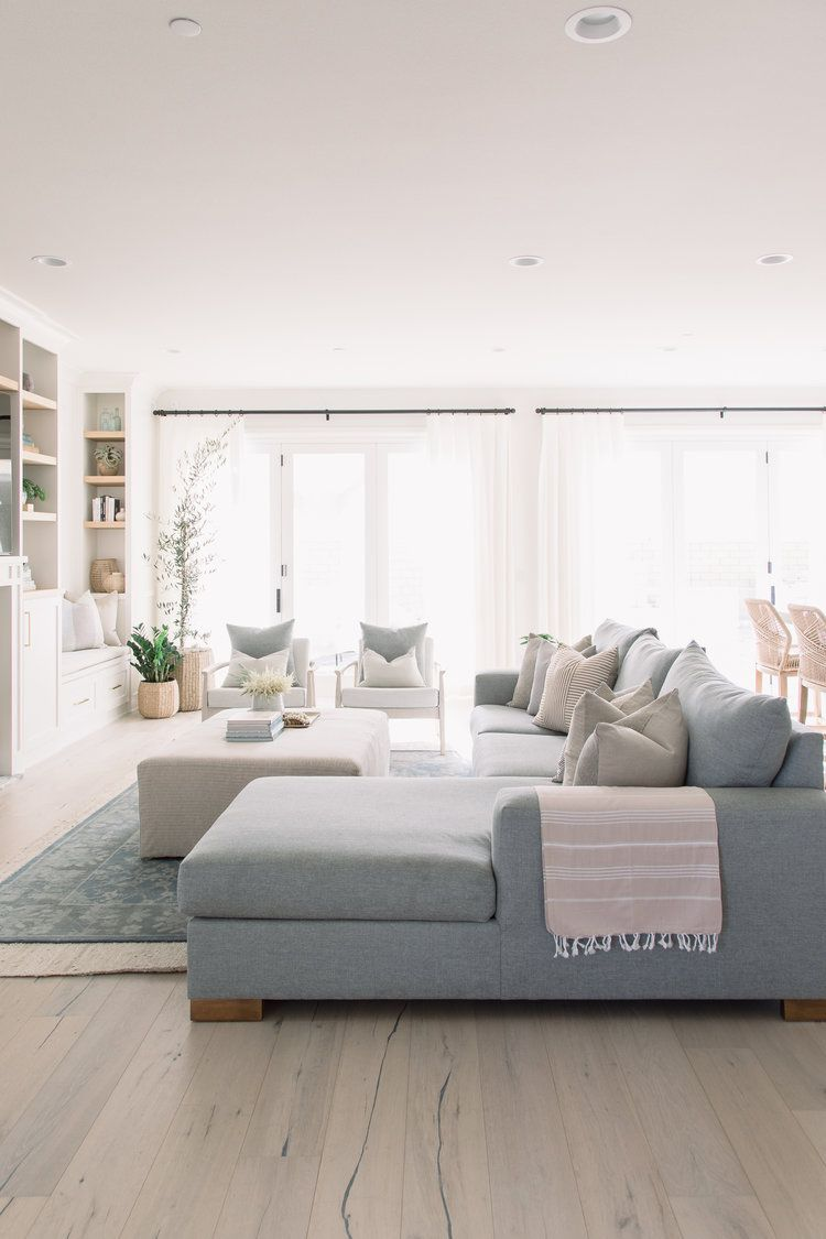 Sea Summit Pure Salt Interiors Minimalist Living Room