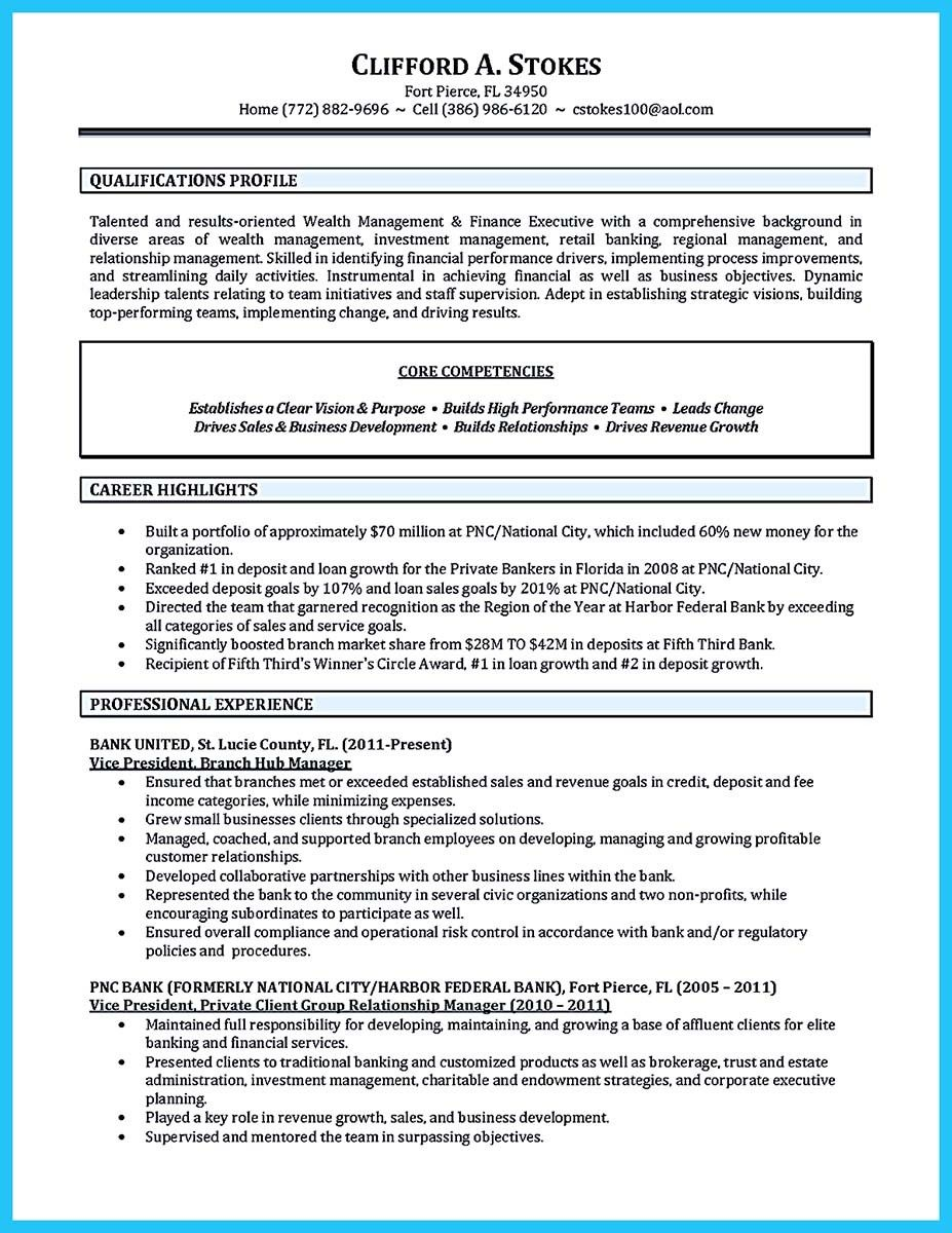 Career Builder Resume Template Nice Starting Successful Career From A Great Bank Manager Resume