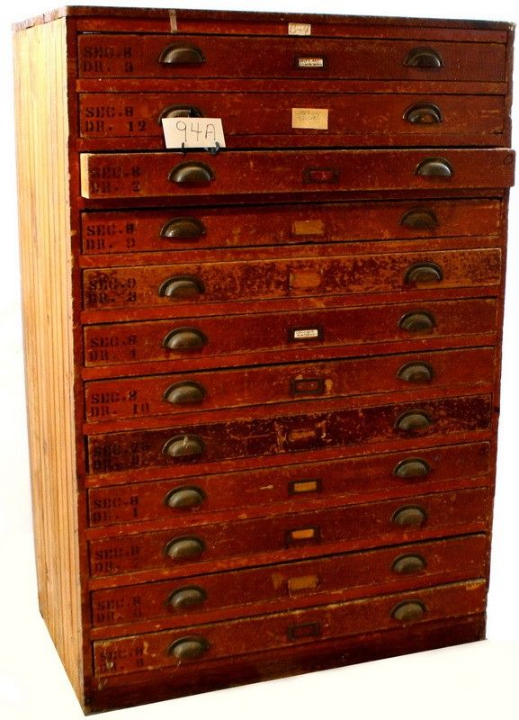 Art Supplies Drawers Auction Cabinets Closets Pull Out Wall Cupboards Cabinet Kitchen