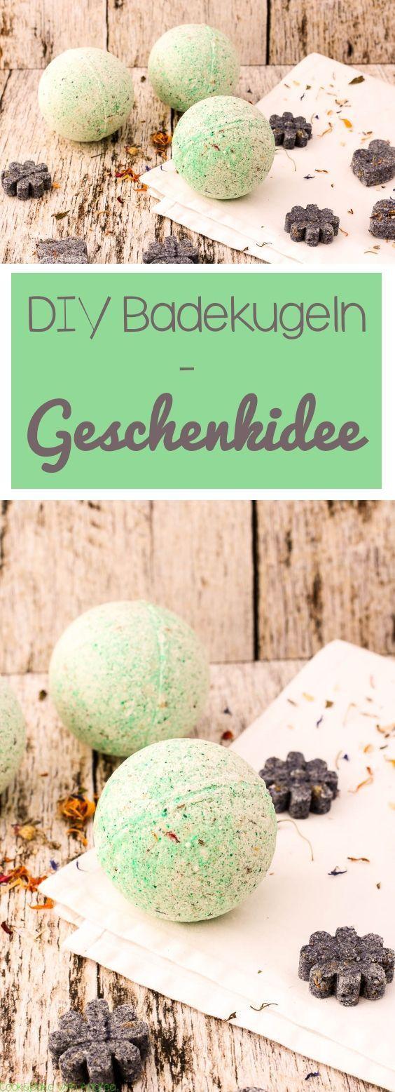 DIY Badekugeln - Geschenk zum Valentinstag - C&B with Andrea