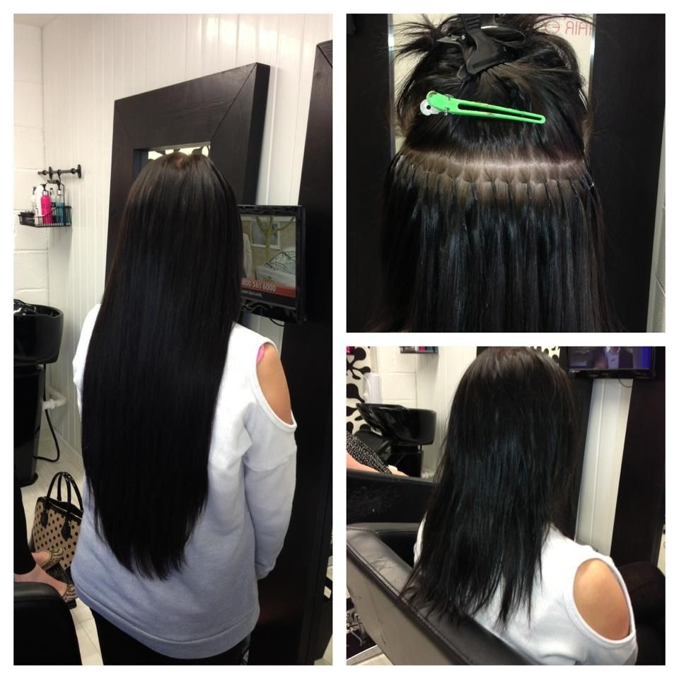 Full head of pre bond hair extensions in 20 inch £265