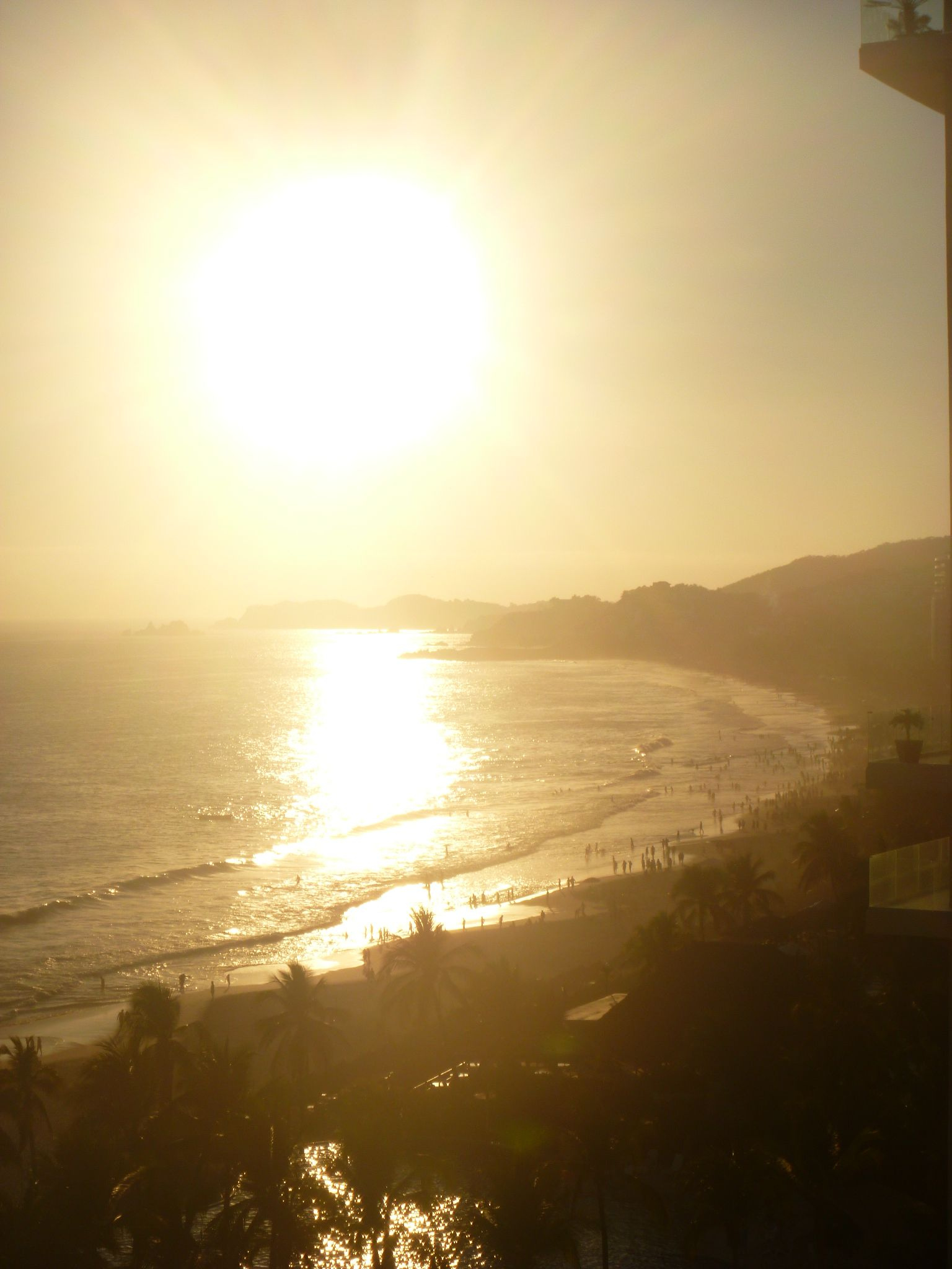 Bello atardecer en Ixtapa!