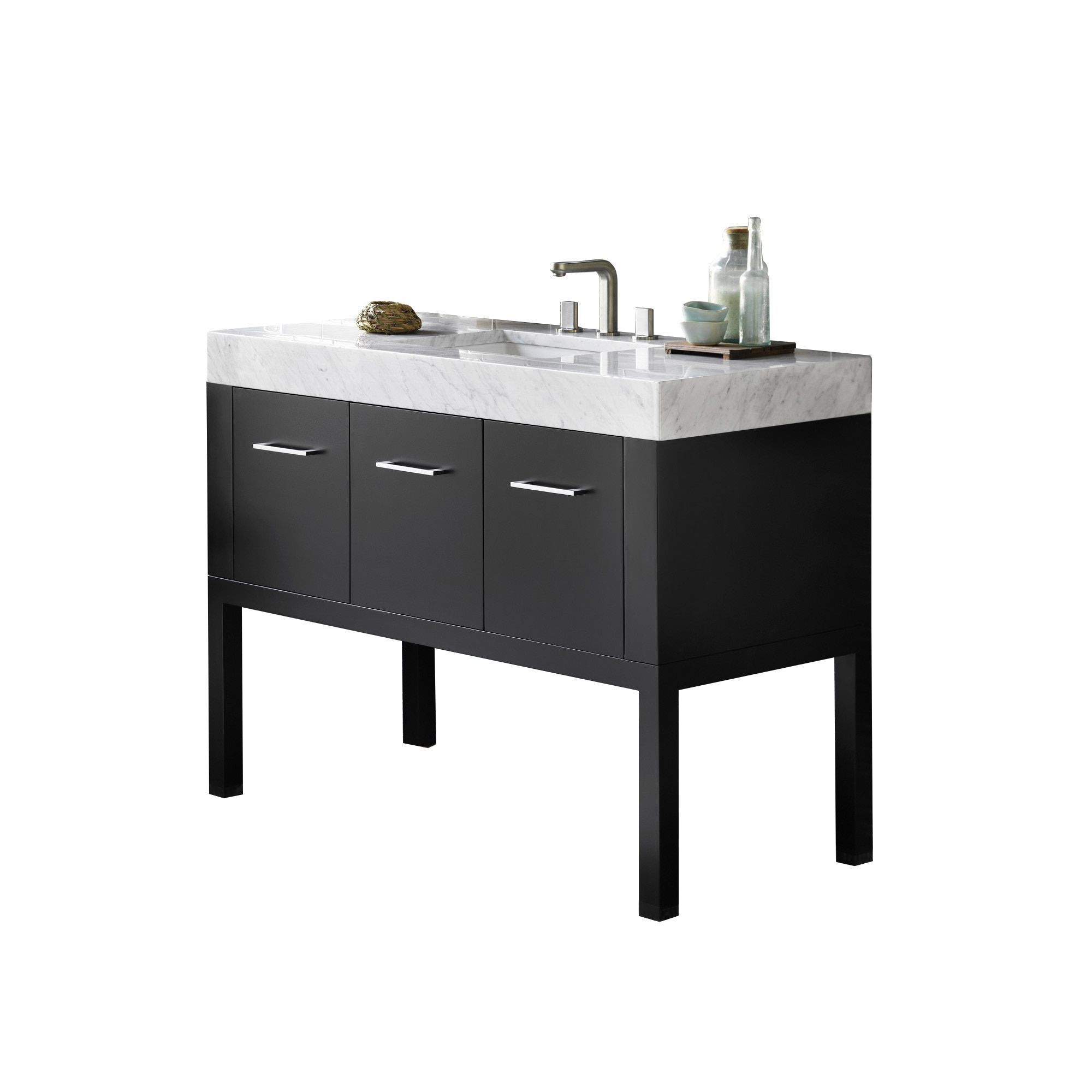 Ronbow Calabria 37-inch Bathroom Vanity Set With Sink And Mirror