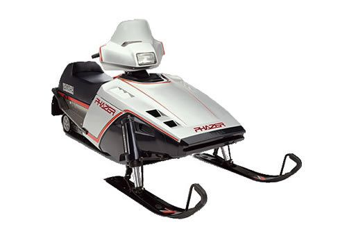 84 Yamaha Phazer Snow Toys Snowmobile Snow Machine