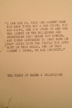 We Are Infinite 3 With Images Perks Of Being A Wallflower