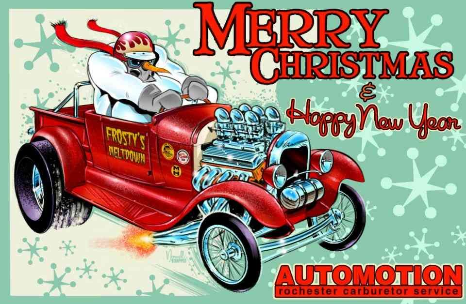 Holiday Hot Rods and Pin-Up Girls | Holidays, Hot Rods and Pin-Up ...