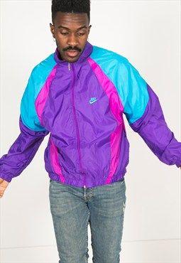 28f02f1784 Vintage 80s USA Nike shell sport jacket   R212