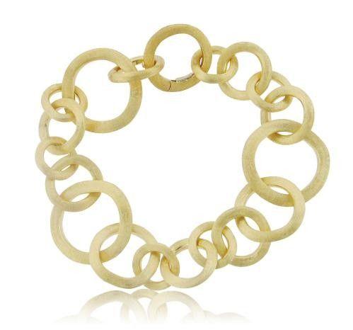 Marco Bicego Jaipur Brushed Link Bracelet At James Free Jewelers Link Bracelets Bracelets Shop Engagement Rings