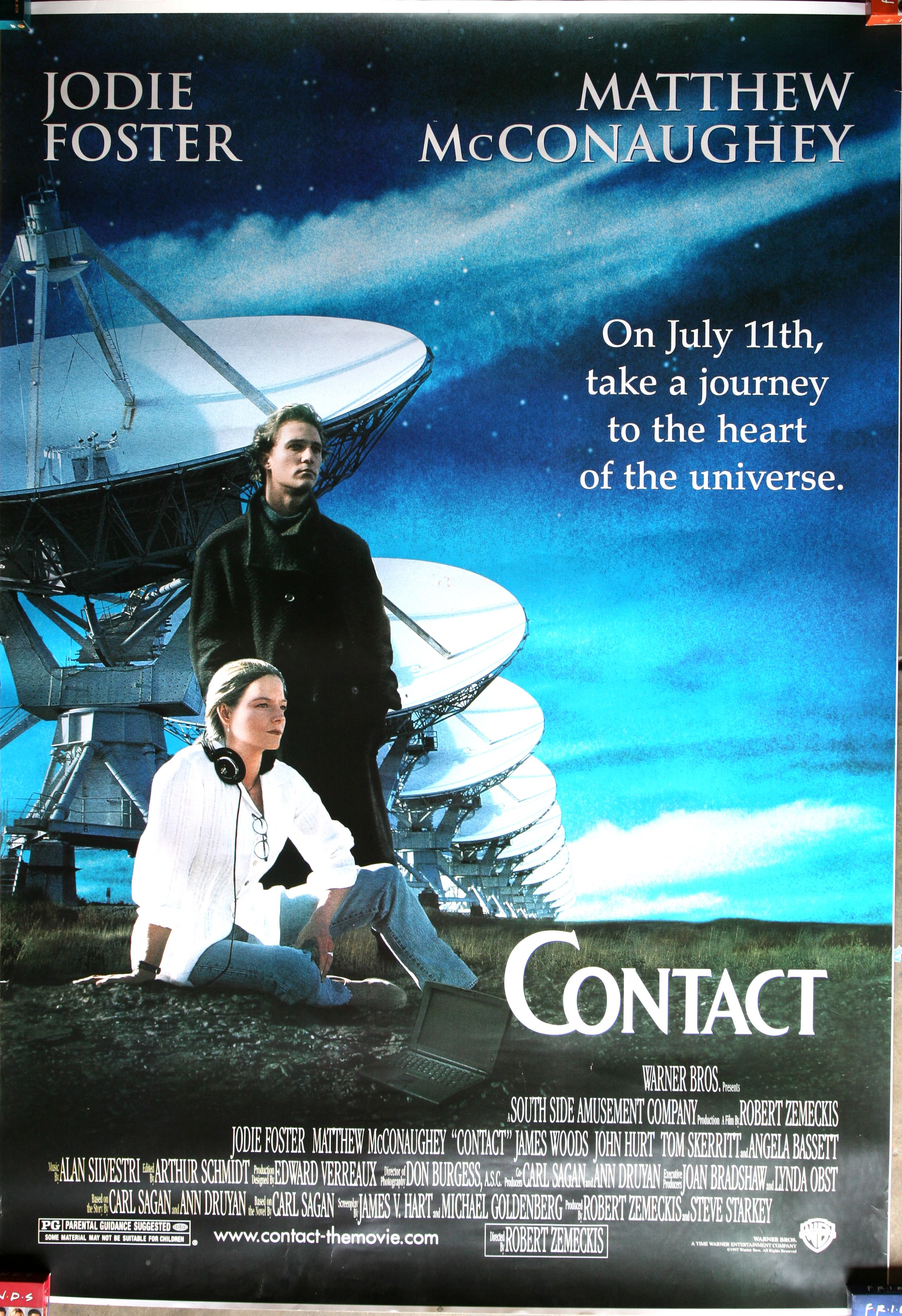 Contact 1997 My Vip Movies Of A Lifetime Contact