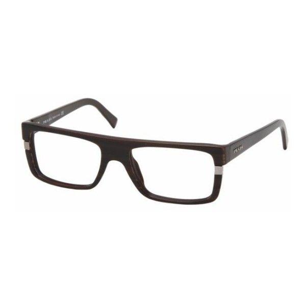 Prada eyeglasses Model: PR 02LV ($153) ❤ liked on Polyvore featuring accessories, eyewear, sunglasses, prada glasses, prada, prada eyewear and prada sunglasses