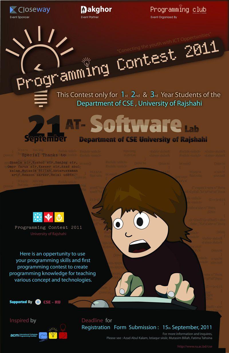 Programming Contest Event Organization Contest Student