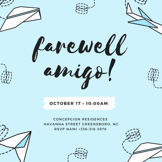 farewell party invitation wording lovely customize 3 999