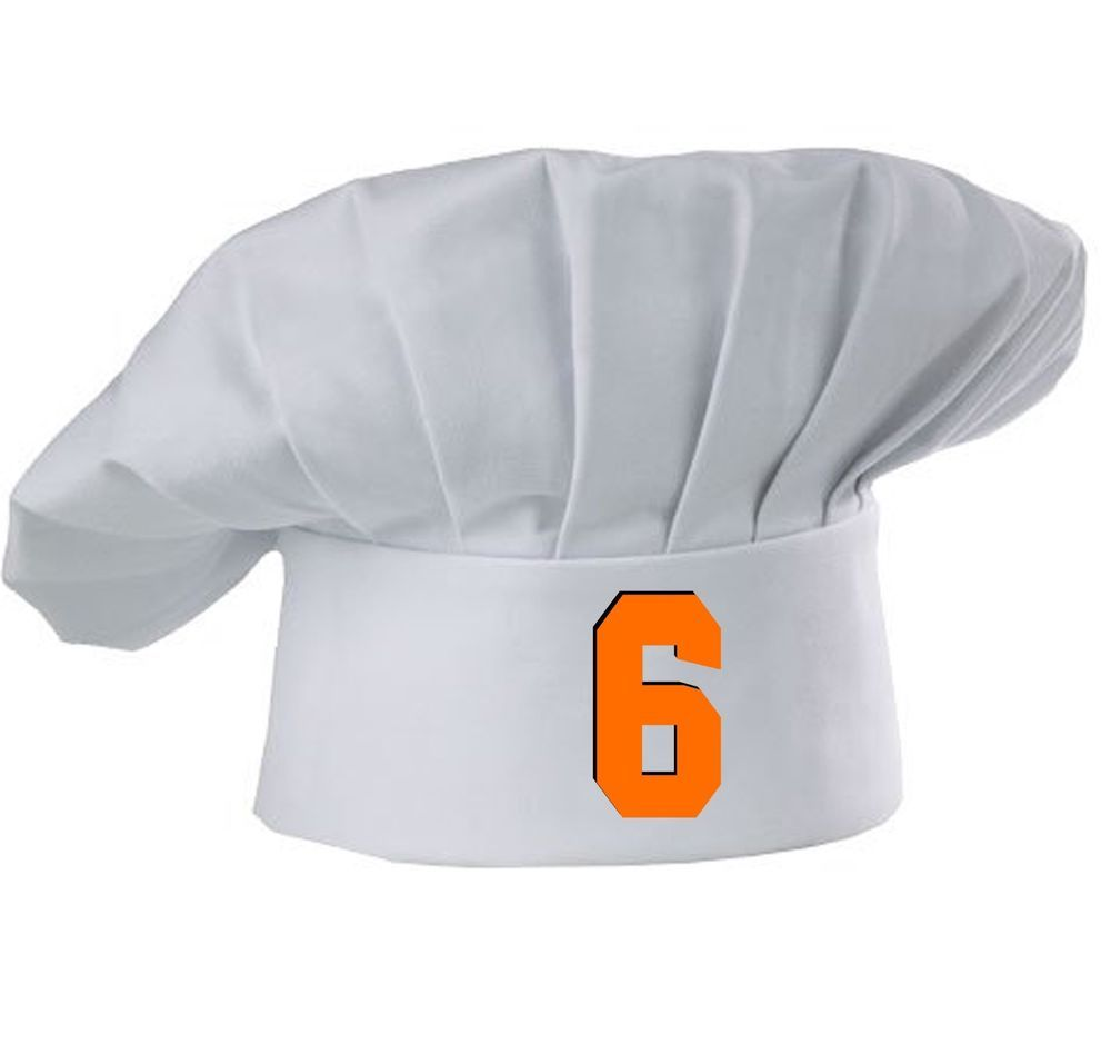 finest selection 50012 7b2b9 Baker Mayfield #6 Cleveland Browns Inspired Baker Chef Hat ...