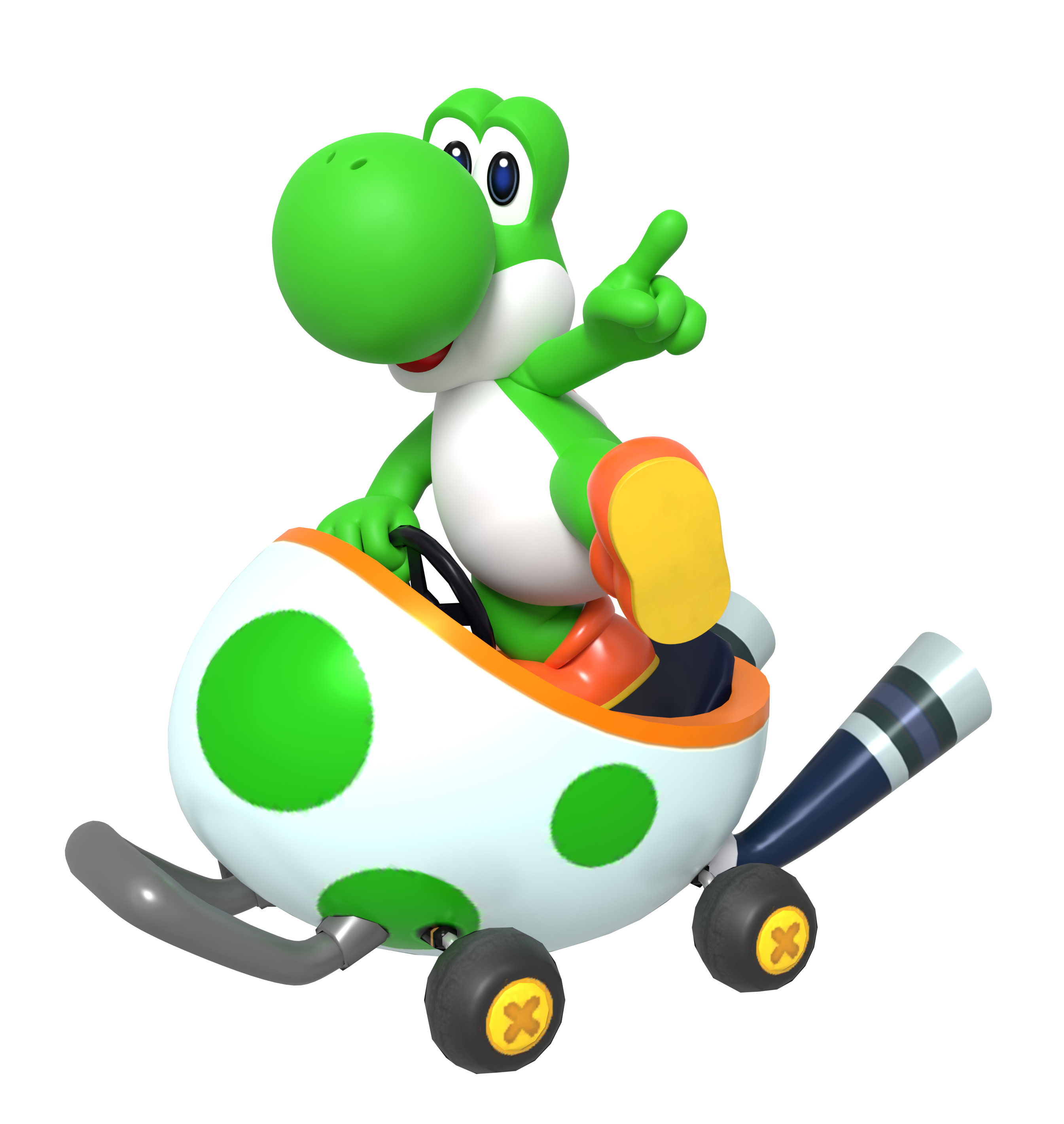 Yoshi Kart Tour Render By Nintega Dario On Deviantart Super Mario Bros Party Mario Kart Characters Mario Bros Party