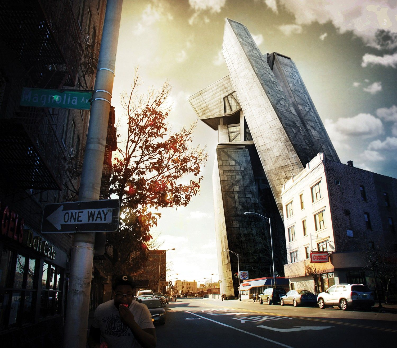 Architecture Photography Editing photoshop tutorial: composite a 3d building into a photo read more