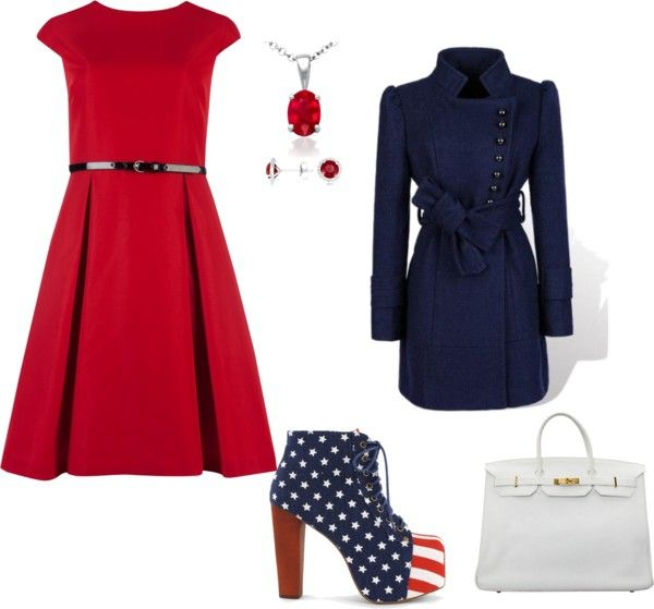 """Fourth of July"" by kaitlyn-romeril-beck on Polyvore"