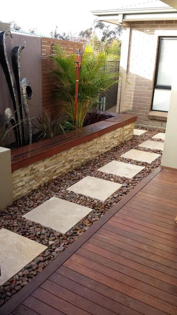 Rock Pathways 20+ great diy garden pathway ideas   pathway ideas, stone and gardens