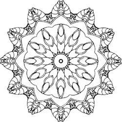 Mandala Mind Meditation Gallery - colourifica