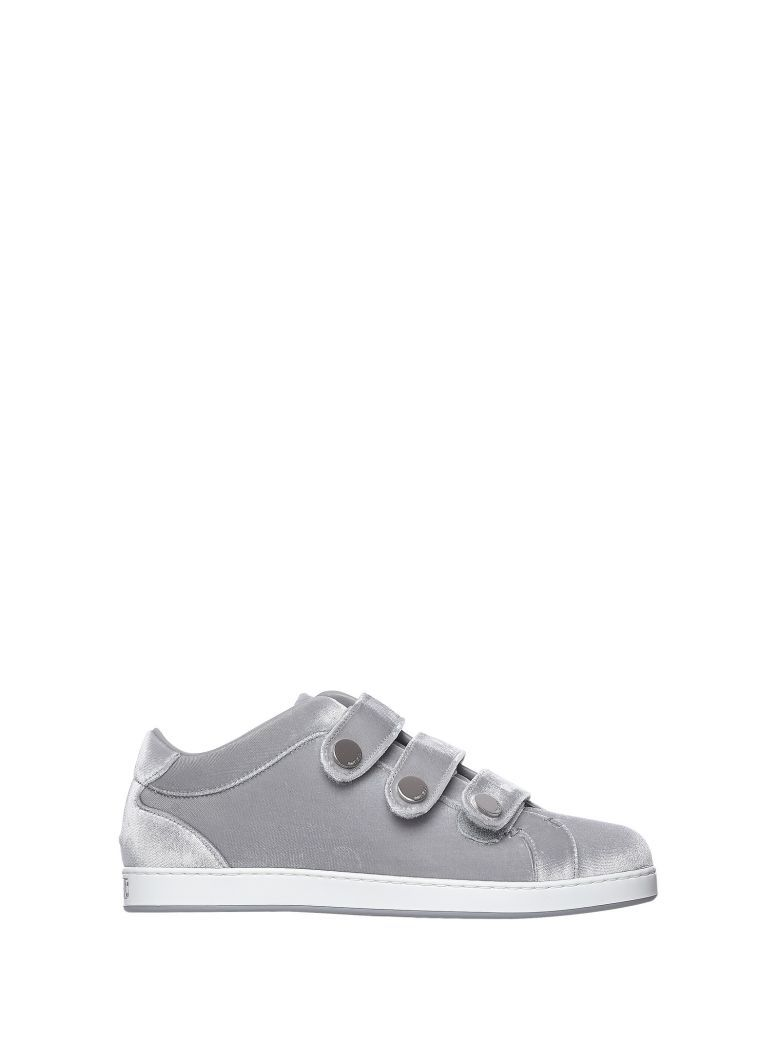 03ef1528ad5 JIMMY CHOO Jimmy Choo Ny Silver Sneakers.  jimmychoo  shoes ...